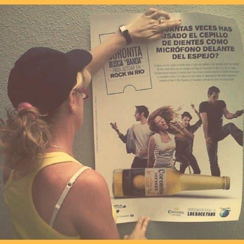colocación carteles Madrid